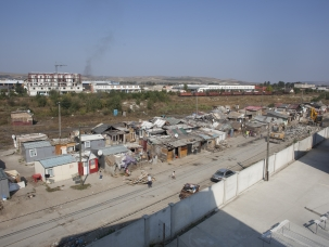 General view – Cantonului (Cluj-Napoca) September 2011  Approximately 450 people, the majority of them Roma, live on Cantonului Street in Cluj-Napoca, Romania. They currently face the threat of forced eviction.